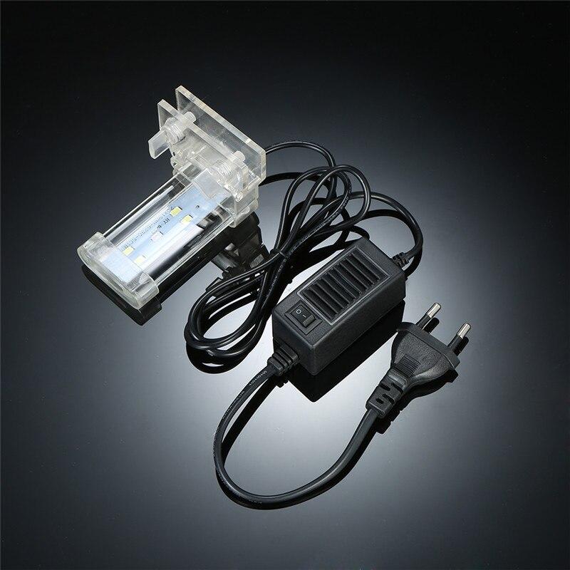 8cm/18cm/28cm 3 Type Optional Aquarium LED Clamp Clip-on Lamp High Light LED BarFish Tank Blue White Lighting P