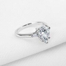 AINOUSHI, акция, обручальное кольцо в виде капли воды, модное, ювелирное изделие, грушевидная огранка, Sona, Женское кольцо, юбилей, вечерние, свадебные ювелирные изделия
