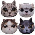 Wholesale Animals Design Women Zipper Coin Storage Bag Plush Wallets Children Mini Pocket Female Coin Purse Bag
