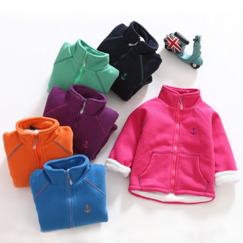 New winter padded fleece jacket with velvet coats for boys and in Jackets Coats from Mother Kids