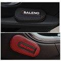 Высококачественная Кожаная подушка для ног  наколенник  автомобильная дверная Подушка  внутренние автомобильные аксессуары для Suzuki Baleno