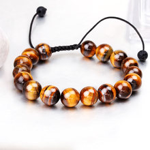 Gifts for Men Tiger Eye Natural Stone Be