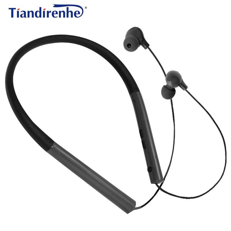 Tiandirenhe MS-770 Earphone with Mic Sports Neck Hanging HIFI Headset Women Man Earplugs Stereo Bass for iPhone 6 6s xiaomi MP3 tiandirenhe 14