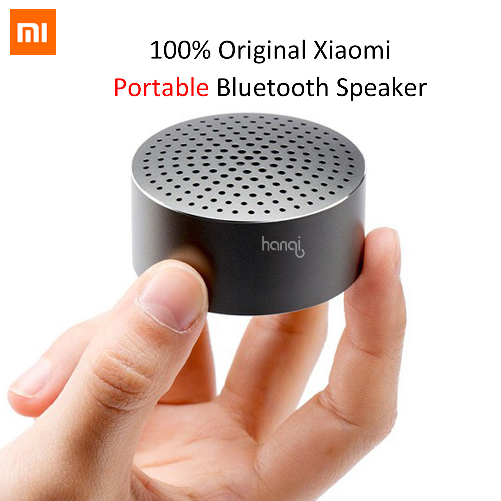 Newest 100% Original Xiaomi Portable Bluetooth Speaker Subwoofer Speaker Portable Wireless Buetooth Car Speaker for Mobile Phone