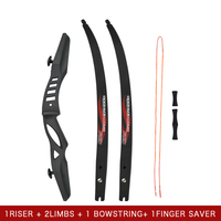 1X Archery Recurve Bow Riser ILF 17 Bows Handle for Right Handed Shooter Outdoor Shooting Hunting Free Shipping