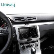 Uniway 2G + 32G 2 din android de dvd del coche para vw polo passat b6 b5 golf 4 5 tiguan skoda fabia octavia rápido gps de radio del coche navegación