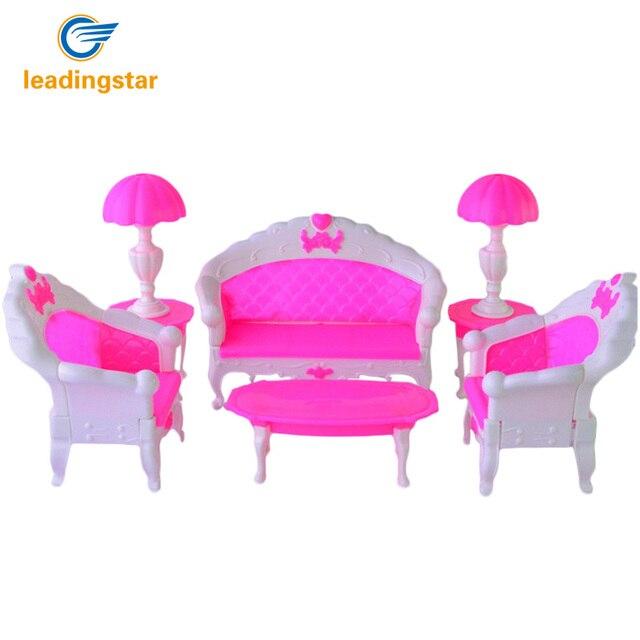 LeadingStar 2017 6PCS SET Barbie Size Dollhouse Living Room Grand ...