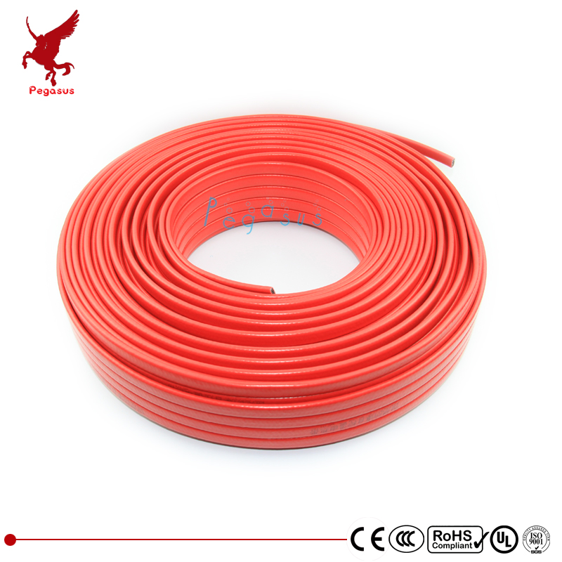 Фото 100m 200V-240V type heating tape 14mm width self regulating temperature Water pipe protection Roof deicing heating cable