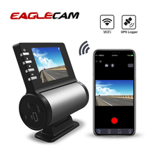Car DVR Wifi Dash Camera 1080P Full HD GPS Logger Parking Monitor Night Vision Video Recorder Vehicle Dash Cam Loop Recording цена