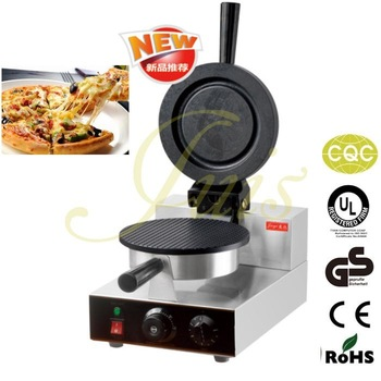 Freeshipping restaurant round Cafe dough waffle machine waffle maker electric piza maker