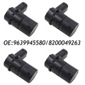 4PCS 9639945580 Parking Sensor For Renault Laguna Peugeot 607 806 2.9L Citroen C5 8200049263