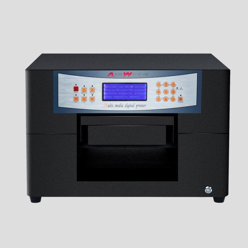Le mobile d'imprimante à jet d'encre de carte à puce de haute résolution couvre la machine d'impression dissolvante à plat