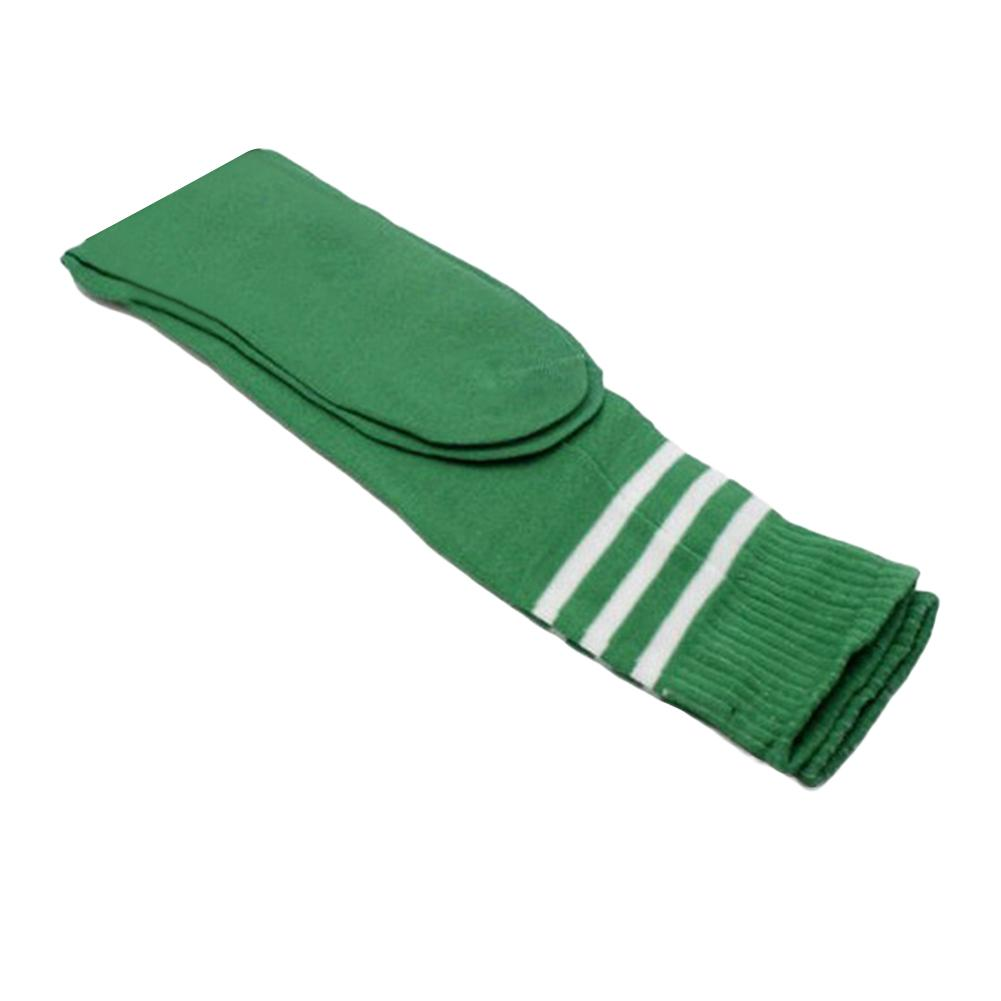 Men Women 1 Pair Striped Stretch Football Soccer Sports Knee Length Long Socks