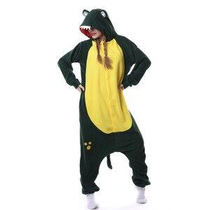 Image 1 - Kigurumi גברים נשים אנימה לשני המינים למבוגרים הלבשת תנין Onesies Cosplay תלבושות ליל כל הקדושים קרנבל מסיבת תחפושות