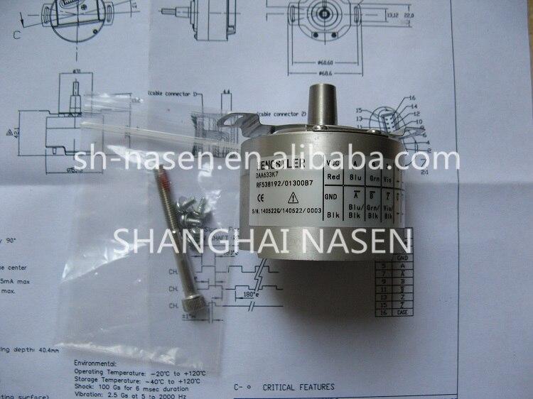 Encodeur rotatif HENGSTLER DAA633K7 RF538192 (remplacer DAA633K2 RF538192 013XB3)