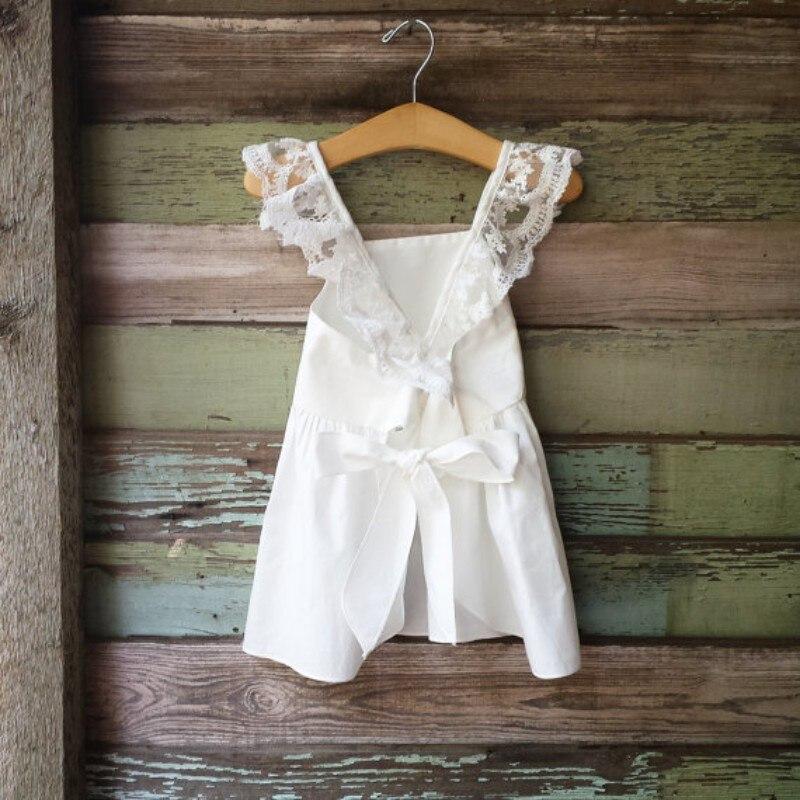 2018 Lace White Summer Newborn Clothes Suit Baby Girls Dress Blouse Newborns PP Pants Braces Panties Infantil Clothing For Bebe