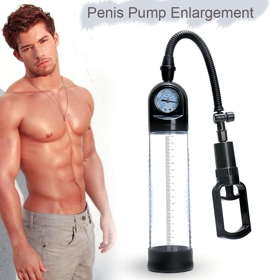 Gran calidad pene bomba CANWIN pene alargamiento bomba de vacío pene extensor juguetes sexuales pene Enlarger para hombres 29% de descuento [venta]
