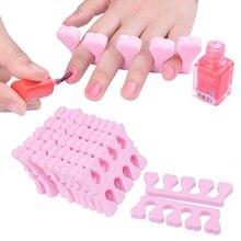 200pcs EVA Nail Tools Soft foam Finger Toe Separator Nail Ar