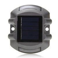 Utile 6 LED Étanche Lampadaire Solaire Lampe-Jaune