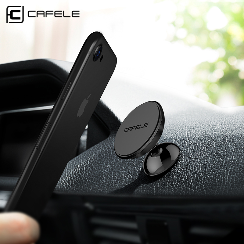 Cafele Magnet Car Mount Phone Holder for Cell Phones and Mini Tablets with Fast Swift-snap Magnetic Car Phone Holder Stand