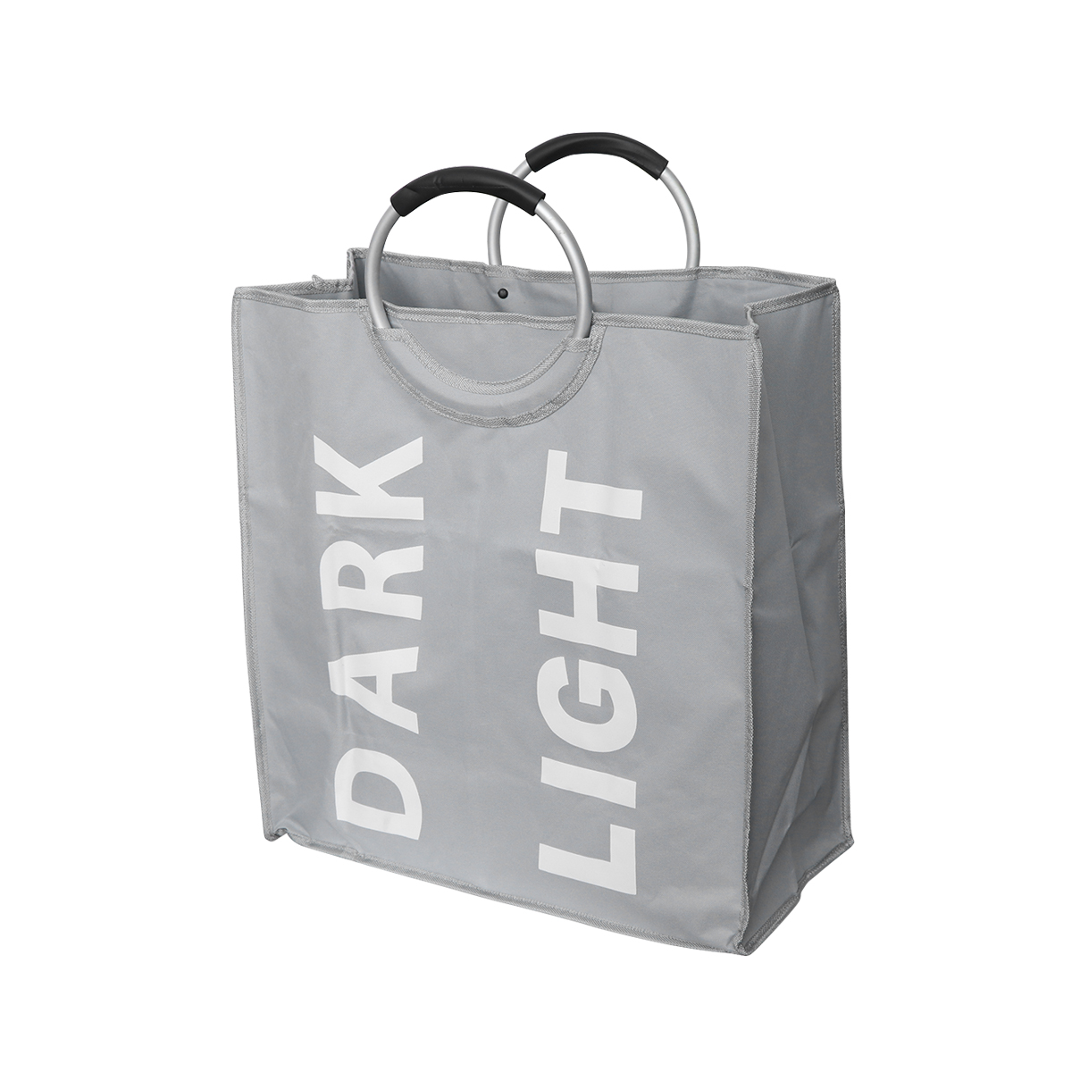 Foldable Laundry Bag Double Grid Materials Dirty Laundry Storage Children'S Toys Storage Household Square Storage Basket