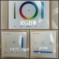 Mi Light Smart Panel Controller DC12V 24V Dimming Panel Color Temperature CCT RGB RGBW RGB CCT