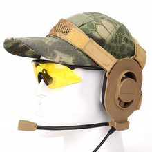 Hunting Accessories Z Tactical headphone Bowman Evo III Headset Army Airsoft Mic Radio Boom 3 TAN zTactical Z027 4 Colors(China)