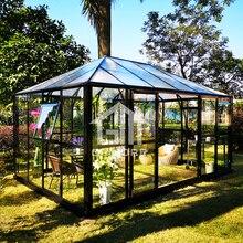 Легкий DIY поликарбонатный сад комната сборный дом-10' X 15' футов