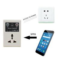 2017 Hot Selling 220v EU Plug Smart Cellphone Phone PDA GSM Switch Remote Control Socket Power