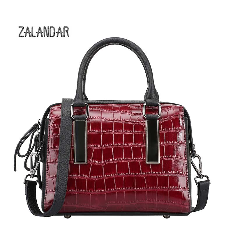 Genuine leather bag female Serpentine Women messenger bags handbags women famous brand designer luxury handbag ZALANDAR