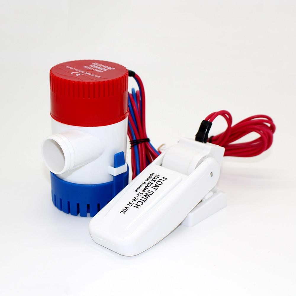 500GPH dc 12v mini boat bilge pump with float switch kayak rule water electric 500 gph 500gph dc 12v mini boat bilge pump with float switch kayak rule