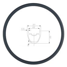 280g 29er MTB XC 27mm carbon rim clincher tubeless 25mm deep UD matte glossy 24H 28H 32H 29in mountain bike wheel