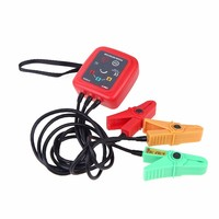 UNI T UT262A Non Contact 3 Phase Sequence Rotation Detectors Tester Indicator Detector Meter LED Display Buzzer