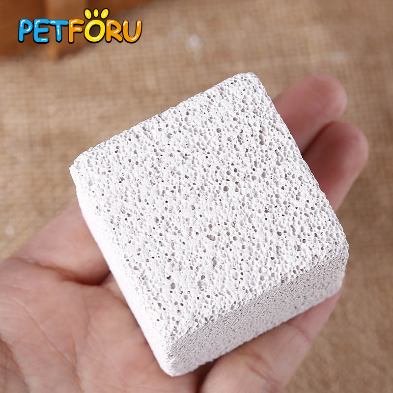 Petforu Small Hamster Chew Toys font b Pet b font Molar Stone Small Animal Hamster Rabbit