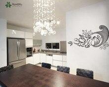 YOYOYU Wall Decal Vinyl Art Kitchen Fun Home Decor Vegetable Set Room Decoration Family Gift Removeable Poster YO523
