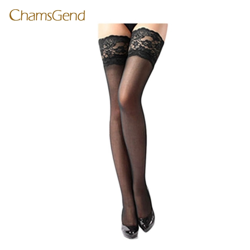 Chamsgend Lovely pet Cheap Sexy Women Sheer Lace Top Thigh High Sexy Lingerie Stockings dec6