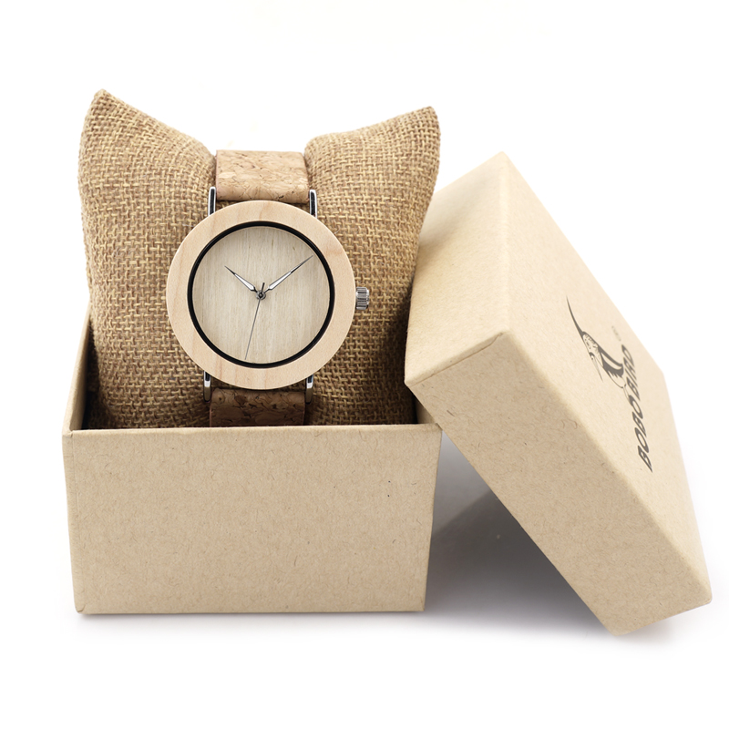 Luxury BOBO BIRD 2017 Watch Women Fashion Casual Bamboo Quartz Watches Genuine Leather Wooden Wristwatch relogio feminino C-E21 bobo bird v o29 top brand luxury women unique watch bamboo wooden fashion quartz watches