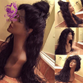 150 density Water Wave wig 100 human hair Indian Water Wave full lace human hair wigs & glueless lace front wigs for black women