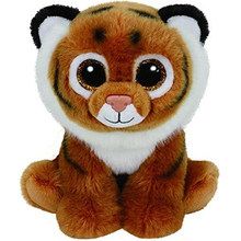 "Pyoopeo Ty Beanie Babies 10"" 25cm Tiggs Brown Bengal Tiger Plush Medium Soft Stuffed Animal Collectible Doll Toy with Heart Tag(China)"