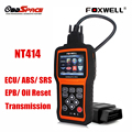 Newest Automotive scanner Car Diagnostic Tool Foxwell NT414 For Air Bag SRS Reset Tool Engine Oil Light Reset EPB Service Tool