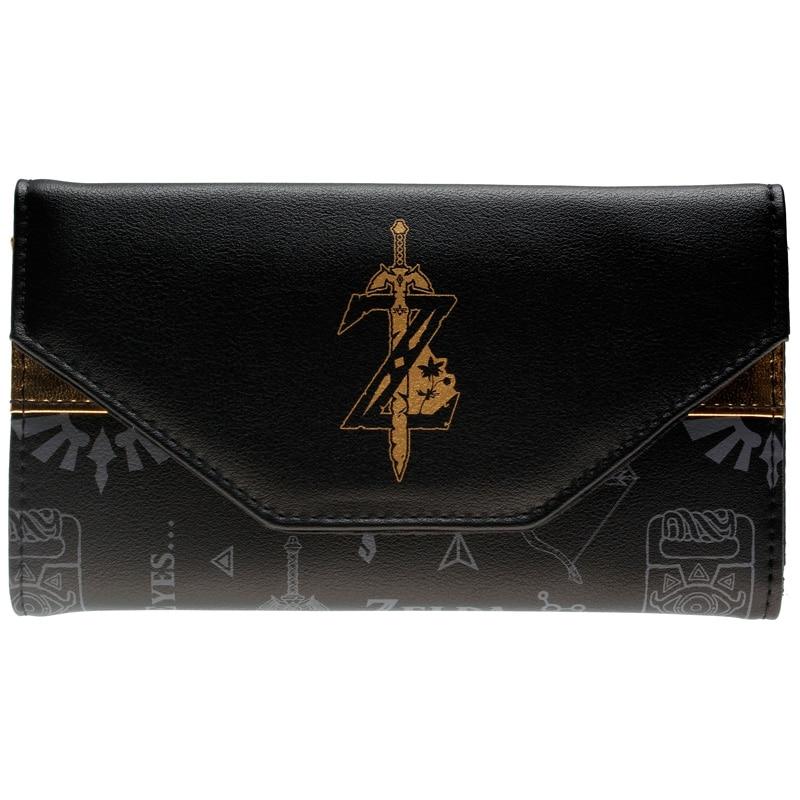 The Legend of Zelda Wallet printing Long wallet Women Purse DFT-8301