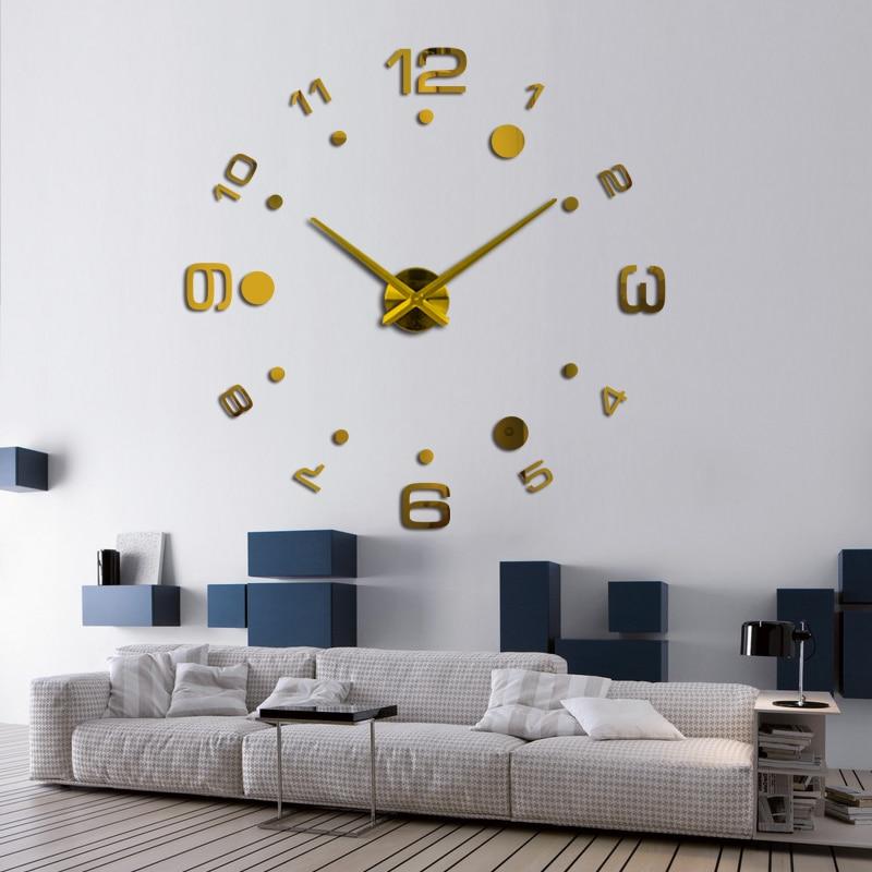 2019 νέα ρολόι τοίχου diy ρολόγια reloj de pared - Διακόσμηση σπιτιού - Φωτογραφία 2