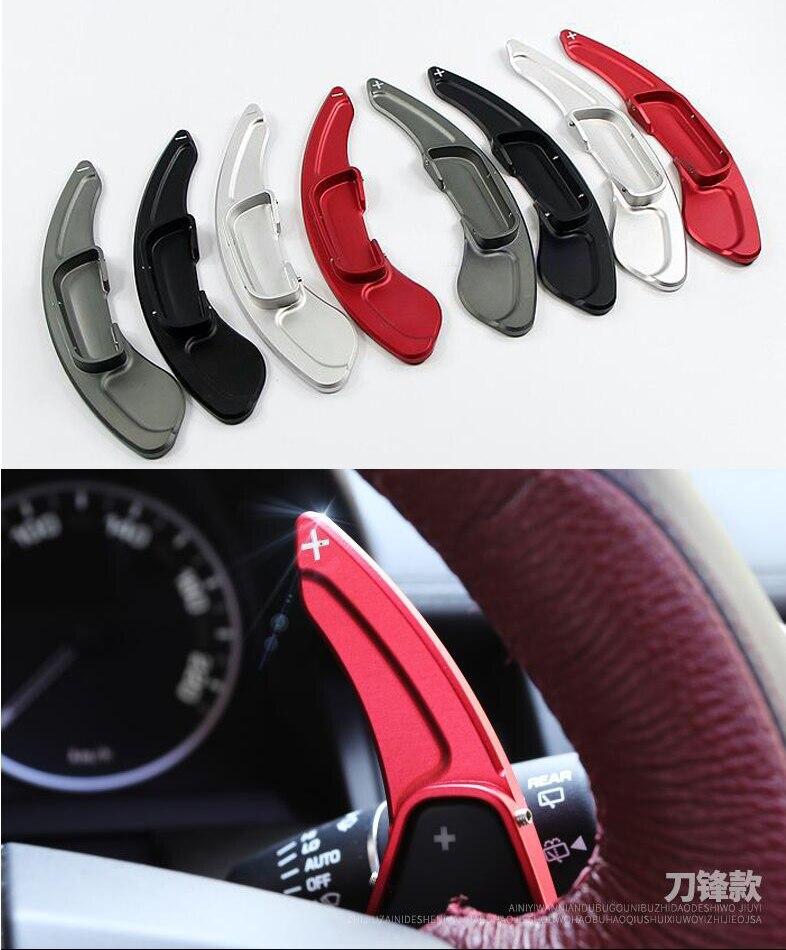 DEE Aluminium Steering Wheel Shift Paddle Shifter Extension For Mazda 3 6 CX-3 CX-5 BM GJ Mazda3 Mazda6 CX3 CX5 Paddle Gearbox steering wheel cruise control radio audio switch for mazda 10 13