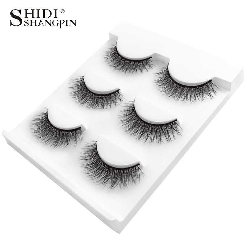 06b042a2806 Detail Feedback Questions about SHIDISHANGPIN 3 pairs mink eyelashes ...