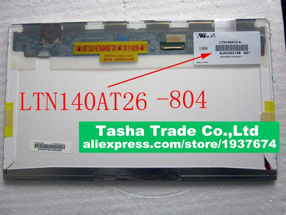 LTN140AT26 804 LTN140AT26 804 Screen TFT LCD Panel 1366x768 HD LED Screen