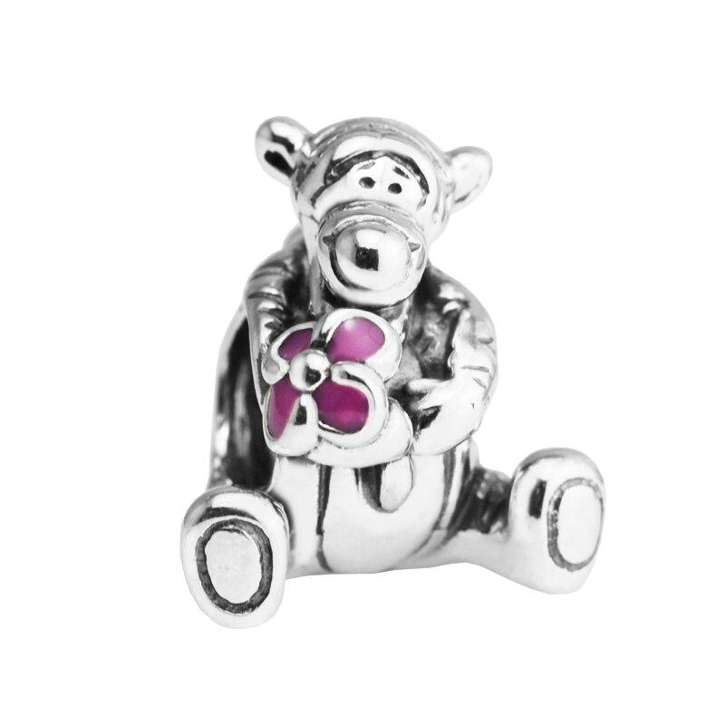 Schmuck & Zubehör Diszipliniert Passt Für Pandora Armbänder Tigger Perlen Mit Rosa Emaille 100% 925 Sterling Silber Charms Schmuck Natürliche Stein Perlas Berloque Aromatischer Charakter Und Angenehmer Geschmack