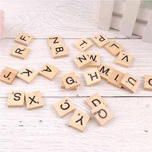 26pcs Wooden English Alphabet Letter Set DIY Create Ornaments for Photo Shooting Photography Background Accessories fotografia