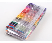 ZMAX 50pcs Unique Colors Gel Markers Pen Glitter Metallic Good DIY Greeting Cards Sketching Painting Drawing