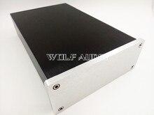 New 1506 Silver Full Aluminum Amplifier Enclosure/ Mini AMP Case/ Preamp Chassis