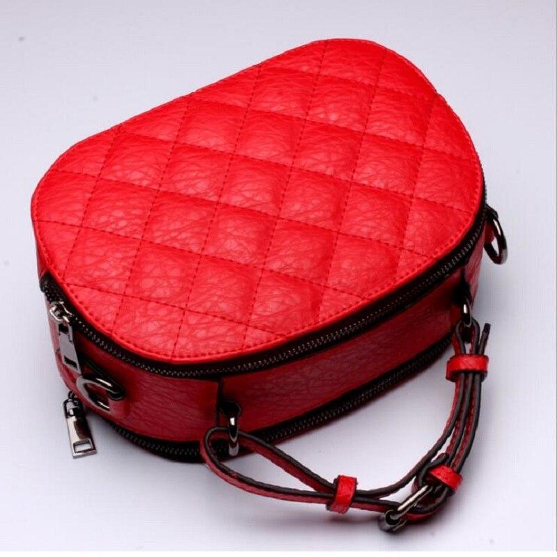 2017 New European and American Leather Handbags Lingge Leather Shoulder Messenger Bag Handbag L5053